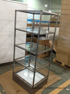Supermarket Rack Steel Display Clothing Display Shelf Rack pictures & photos