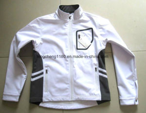 Outdoor Seam Tape Softshell Jacket (1002) pictures & photos