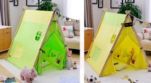 100% Cotton Canvas Wooden Pole Children Play Kids Tent pictures & photos
