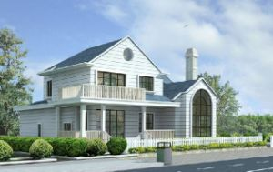 Steel Frame Duplex Villa with Storeroom and Garage pictures & photos