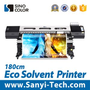 Dx7 Head Eco Solvent Vinyl Sticker Printer, 1.8m Sinocolor Sj-740 pictures & photos