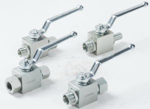 2 Way Hydraulic Ball Valve with Locking Device pictures & photos