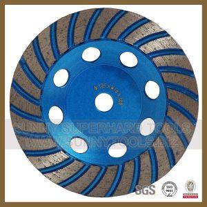 Turbo Type Diamond Concrete Floor Abrasive Wheels pictures & photos