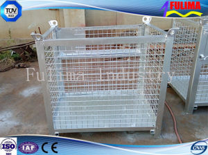 Industrial Warehouse Steel Storage Cage pictures & photos