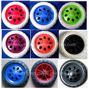 Plastic Wheels EVA Foam Wheels for Shopping Cart Trolley Bicycle pictures & photos