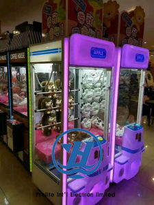 Claw Crane Vending Game Machine for Sale (ZJ-CGA-5) pictures & photos