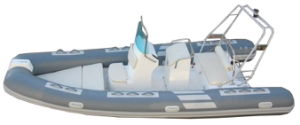 Rhib Boat White Color (RIB-520) pictures & photos