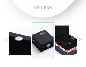 Simple Elegant British Style Black Rigid Coin Gifts Package Case pictures & photos