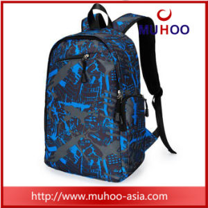 Blue Travel Sports Duffle Bag Laptop School Backpacks for College pictures & photos