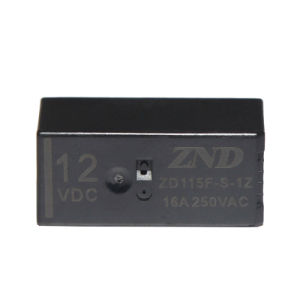 115f 16A 12V 1z 8pins Electromagnetic Power Relay Miniature Size pictures & photos