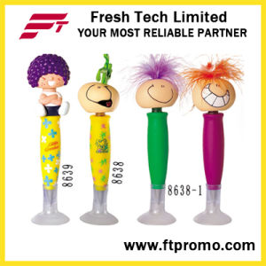 Fashionable Plastic Promotional Ball Pen with Logo pictures & photos