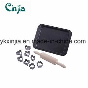 Kitchenware Nonstick Carbon Steel 10-Piece Mini Bakeware Set-Xjt780 pictures & photos