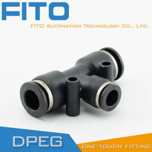 Peg Pneumatic Plastic Reducer G Fitting One Touch Air Conncetor pictures & photos