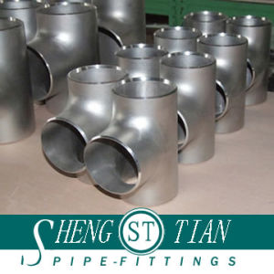 Carbon Steel Reducing Tee Pipe Fittings pictures & photos