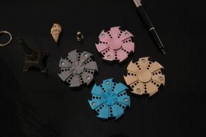 Metal/ Brass/ Titanium/ Aluminium Alloy EDC Fidget Spinner with Hybrid Ceramic Bearing pictures & photos