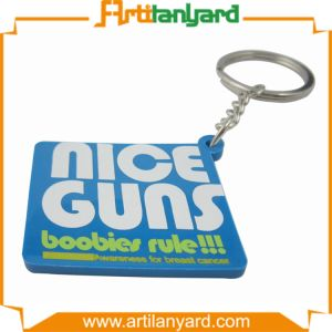 Custom Design Soft Rubber PVC Keychain pictures & photos