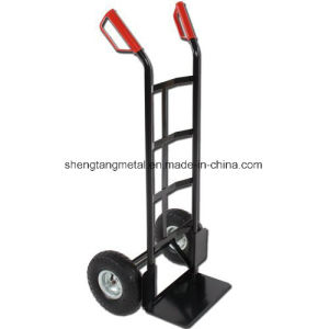 Simple Structure Hand Trolley Ht1830 Metal Frame pictures & photos