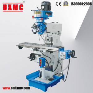 Zx7550z Belt Drive Gear Head Desktop Drilling and Milling Machine