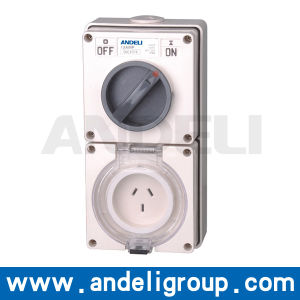 32A 500V Combination Switched Sockets pictures & photos