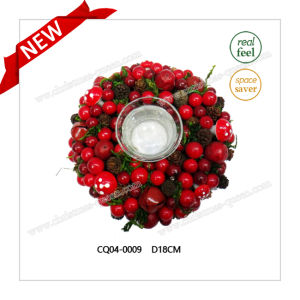 52*16*9cm Cherry Candlestick Craft Plastic Christmas Wedding Decoration pictures & photos