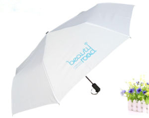 Automatic Opening Custom Logo Printed Advertising Fold up Type Umbrella pictures & photos