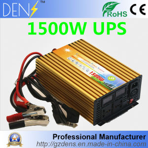 12V to 220V UPS Charger Quiet Fast Charge 1500W Power Inverter pictures & photos