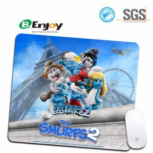 Computer Rubber Mousemat with Custom Full Logo Print pictures & photos
