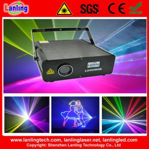 2W RGB Club Disco Laser Hotel Advertising Logo Projector pictures & photos