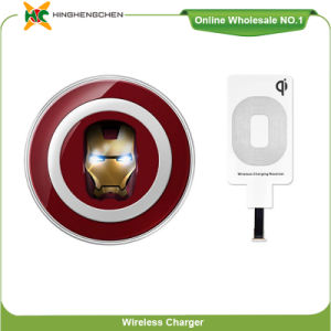 Iron Man′s Head Creatived Cell Phone Wireless Charger S6 pictures & photos