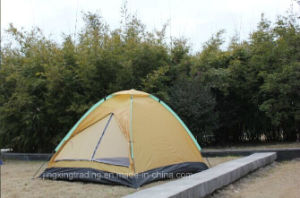 Popular 100% Polyester Single-Skin Camping Tent for 2 Persons (JX-CT017-1) pictures & photos
