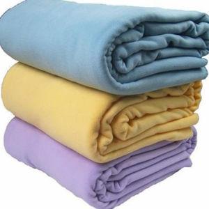 Solid Fleece Blanket pictures & photos