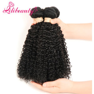 Mongolian Kinky Curly Hair Full Cuticle Natural Human Hair pictures & photos