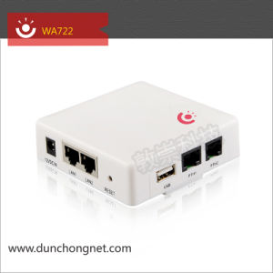 300Mbps WA722 Wall-In Wireless Access Point Router with POE Adaptor
