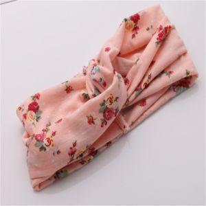 Haimeikang Turban Headwrap Floral Prints Bandanas Korean Elastic Hairwrap Gum Hair for Girls Hair Accessories for Women pictures & photos