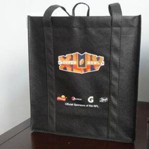 Custom Printed Non-Woven Recyclable Bags for Wine (FLN-9014) pictures & photos