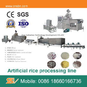 Nutrition Rice Processing Line pictures & photos