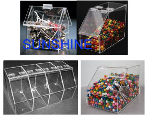 Acrylic Box for Candy pictures & photos