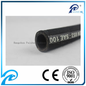 "1-1/4"" SAE 100r2 / 2sn Hydraulic Rubber Hose pictures & photos"