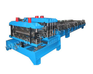 Double Press Mold Steel Tile Forming Machine (high speed) pictures & photos