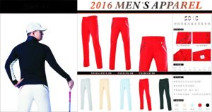 Golf Long Pants Fashion Cultivate Figure Cooling Touch Golf Pants pictures & photos