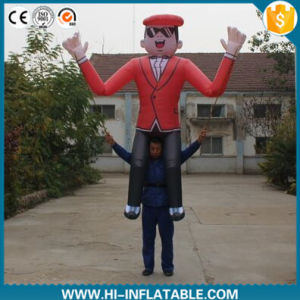 2016 Hot Sale Inflatable Cartoon Character with Long Legs for Advertising