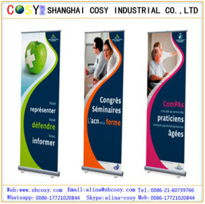 High Quality with Good Factory Aluminum Roll up Display Stand 80*200/85*200cm pictures & photos