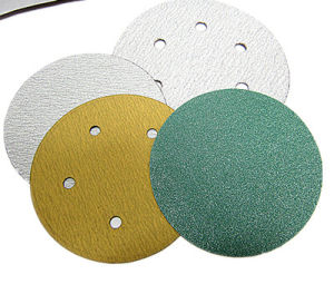 Aluminum Oxide Stearate Velcro Sand Paper Backed Abrasive Disc (001616)