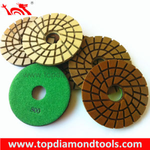 Diameter 125mm Concrete Floor Polishing Pads pictures & photos