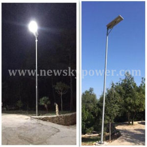 60W Outdoor Integrated Solar LED Garden Street Light with Sensor pictures & photos