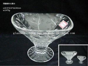 Stemmed Glass Bowls&Glass Containers (GD-HG026) pictures & photos
