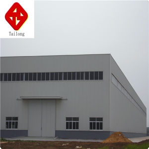 New Design Prefabricated Large Span Light Steel Structure Workshop/Warehouse pictures & photos
