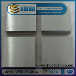 High Purity 99.95%Min Tungsten Block/Plate/Sheet pictures & photos