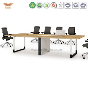 Modern Office Furniture Meeting Room Wooden Conference Table (H90-0303) pictures & photos