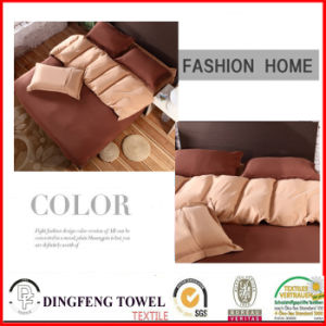 Microfiber Solid Color Bed Sets Df-8619 pictures & photos